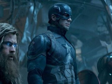 Thor, Capitán América y Iron Man