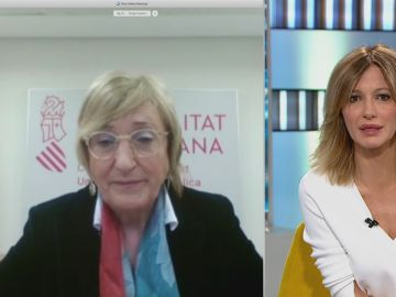 Ana Barceló durante una entrevista en Espejo Público (archivo).