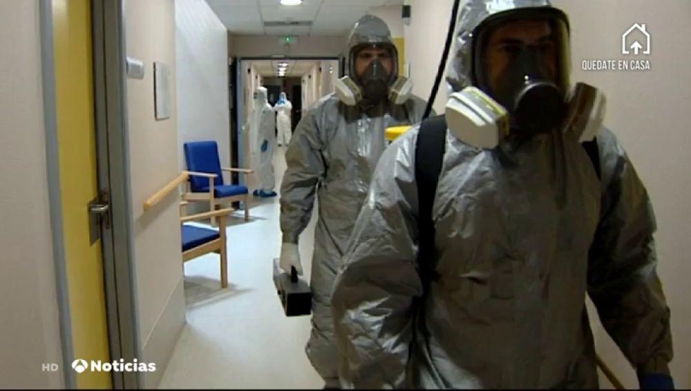 ¿Cómo se desinfectan las residencias de ancianos por el coronavirus?
