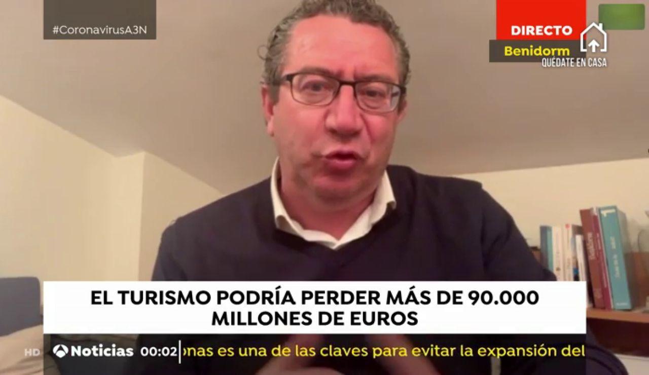 Antonio Pérez, alcalde de Benidorm