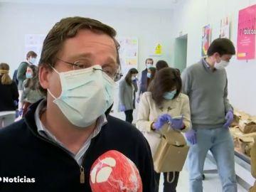 Madrid recibe en un mes más peticiones alimentarias que en todo el año pasado por el coronavirus