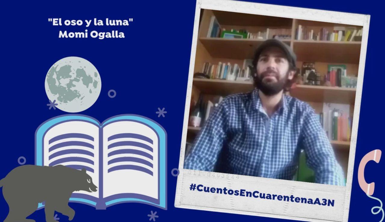 """Cuentos en Cuarentana: """"El oso y la luna"""""""