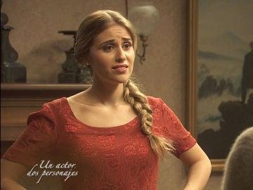 Berta y Brígida, los dos personajes de Raquel Aragón en 'El secreto de Puente Viejo'