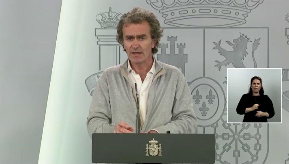 Fernando Simón no ve necesario hacer pruebas masivas a la población por el coronavirus