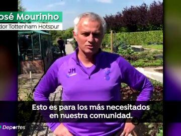 El gran gesto de Mourinho con los más necesitados en la crisis provocada por el coronavirus