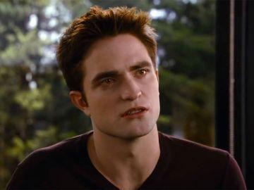 Robert Pattinson como Edward en la saga 'Crepúsculo'