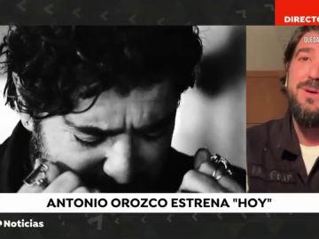 Antonio Orozco presenta su nuevo single, 'Hoy', un tema que proclama la importancia de vivir el momento
