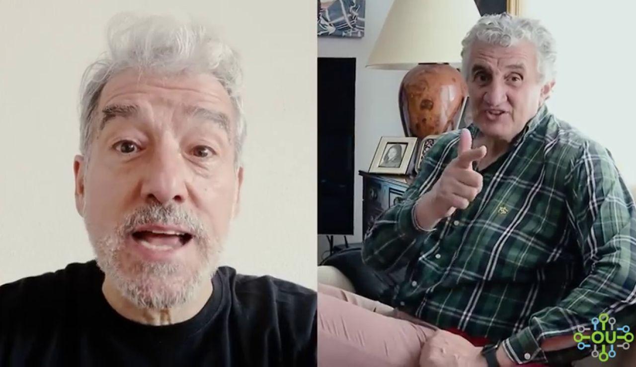 Fernando Romay y Sergio Pazos lanzan un vídeo de ánimo a ourensanos
