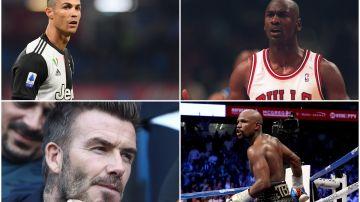 El ranking de los diez deportistas más ricos de la historia