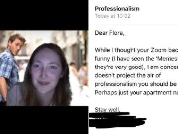 El troleo viral de una joven a su jefe