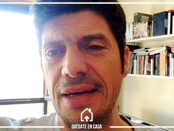 Encerrados con Manu Zapata, de 'Los Lobos': el llamativo motivo de su dieta y el sacrificio de no estar en Tafalla con sus padres
