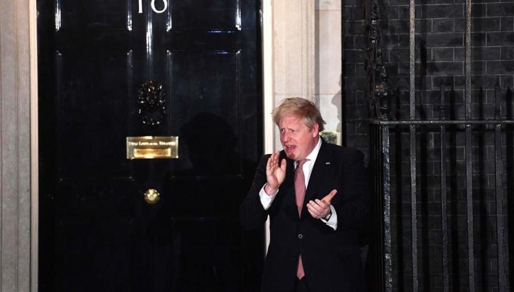 Boris Johnson vuelve a Downing Street