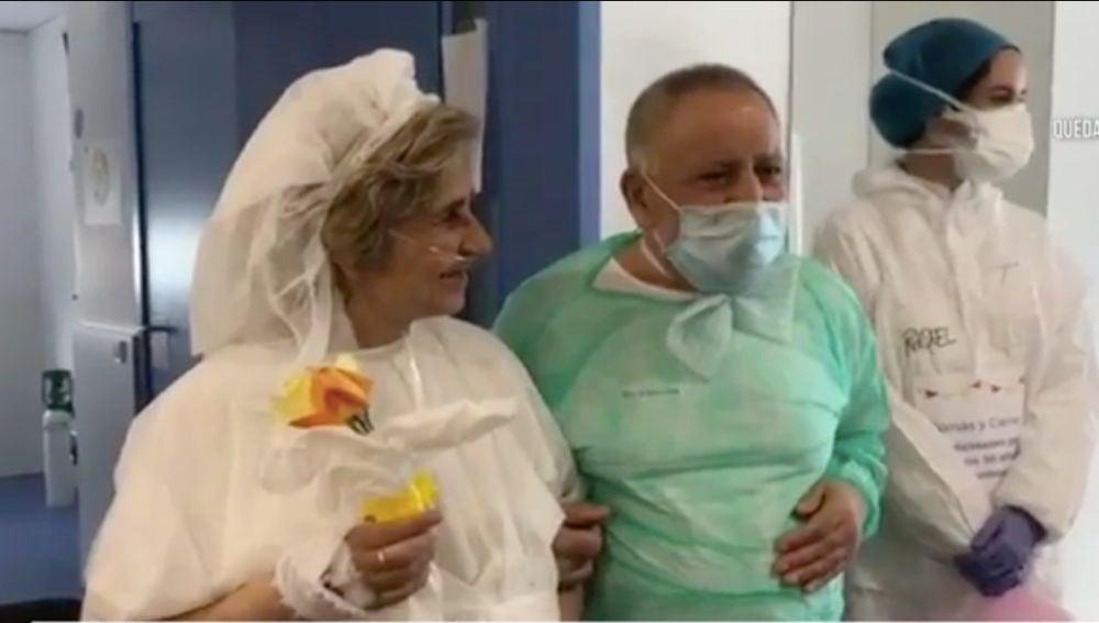 Bodas de oro en el hospital