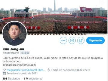 Twitter de @norcoreano
