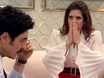 Armando, sobrepasado por la culpa se sincera con Irene