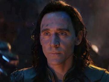 Tom Hiddleston como Loki en 'Vengadores: Infinity War'