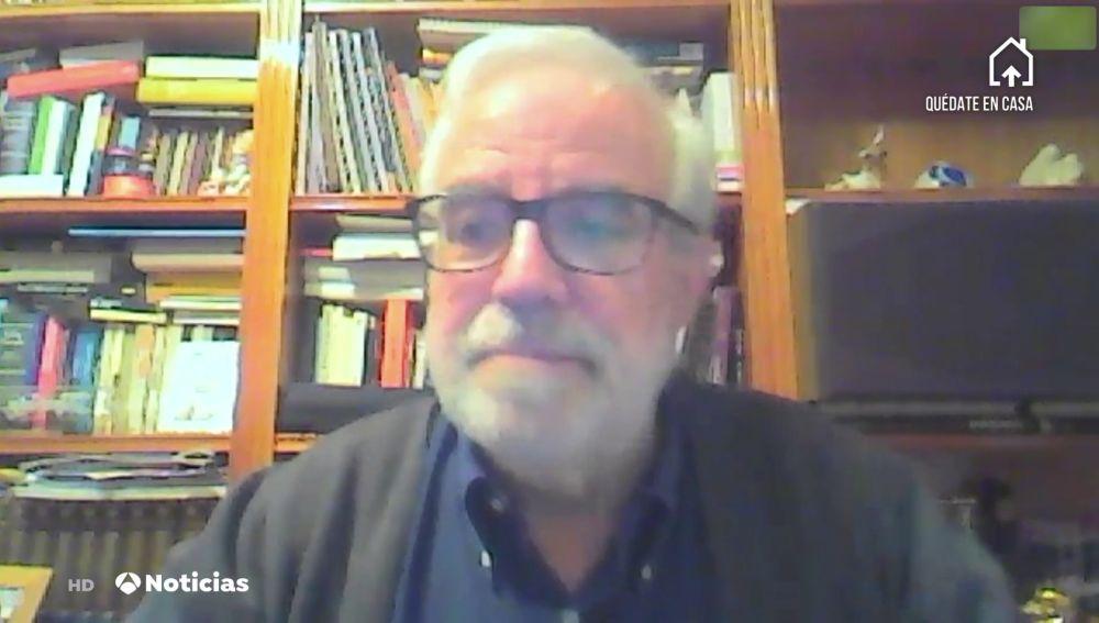 Jesús Ruiz Contreras, jefe de Pediatría del Hospital 12 de Octubre de Madrid