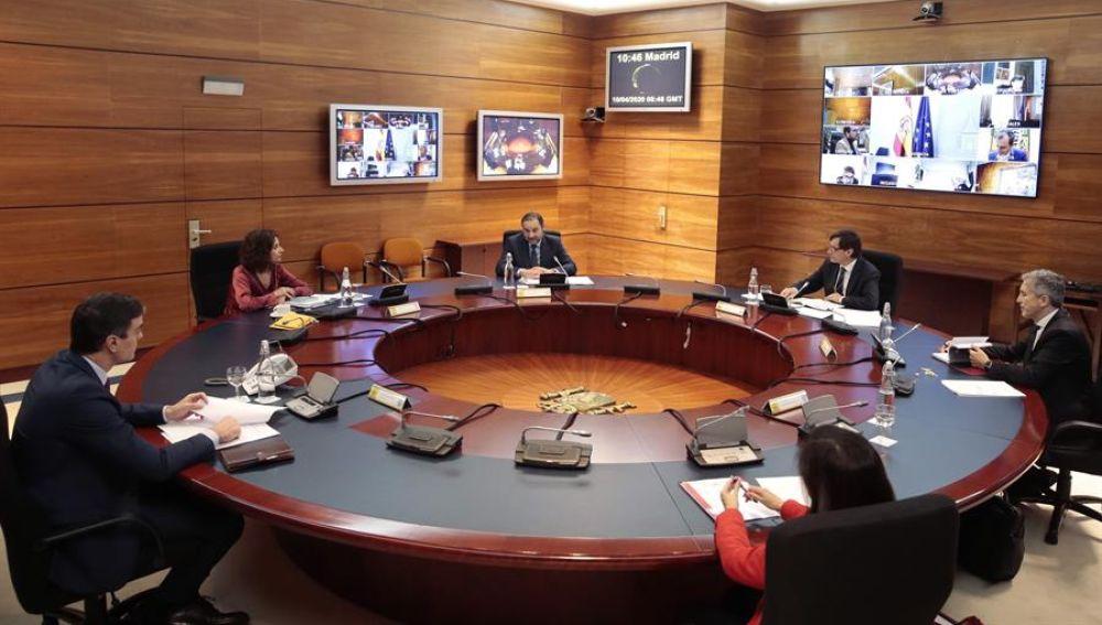 Imagen de archivo del Consejo de Ministros.