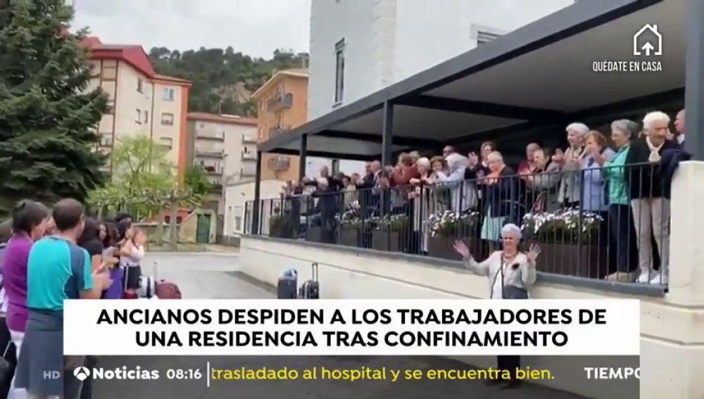 35 días después de confinarse en una residencia en Pamplona ancianos y cuidadores están libres de coronavirus