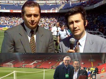 Michael Robinson y Carlos Martínez
