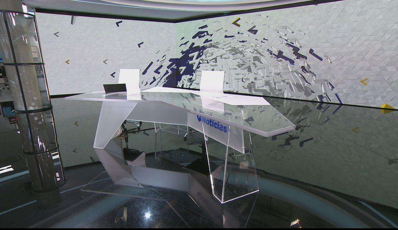 Plató de Antena 3 Noticias