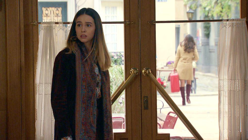 El miedo vuelve a apoderarse de Luisita al ver como pierde a Amelia