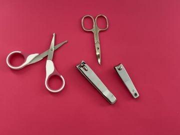 Tijeras y cortaúñas