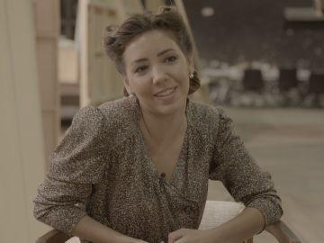 Secuencias en bucle y grandes dosis de buena energía, el día a día de Sandra Cervera en 'El secreto de Puente Viejo'