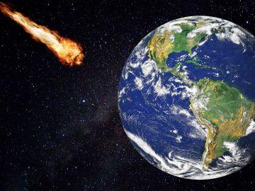 Un asteroide pasa cerca de la Tierra mañana