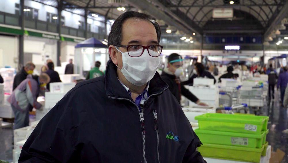 """Manuel, pescadero: """"En el comercio minorista somos también héroes"""""""