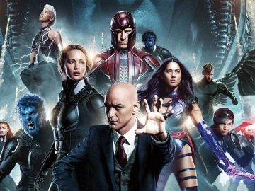 Los protagonistas de 'X-Men: Apocalipsis'