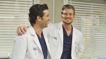 Derek Shepherd y Mark Sloan en 'Anatomía de Grey'