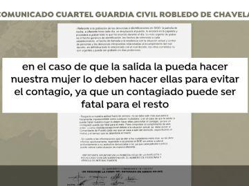 Orden de la Guardia Civil de Robledo de Chavela