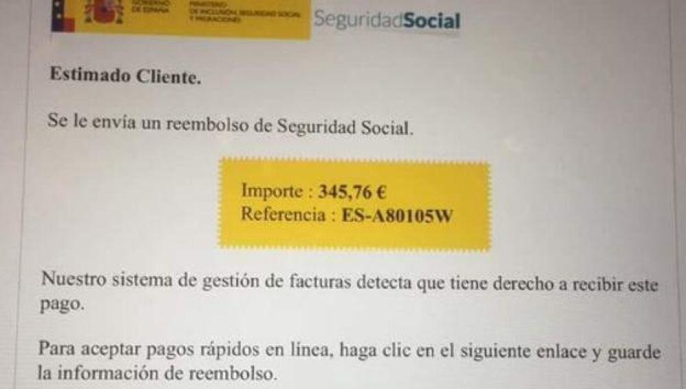 El timo de la devolución de la Seguridad Social