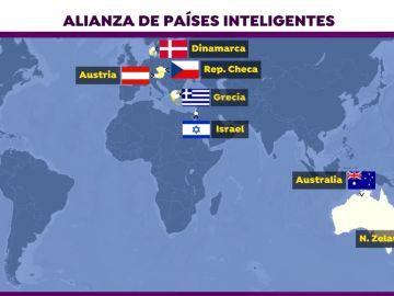 La 'alianza de países inteligentes'