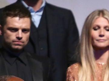 Sebastian Stan junto a Gwyneth Paltrow