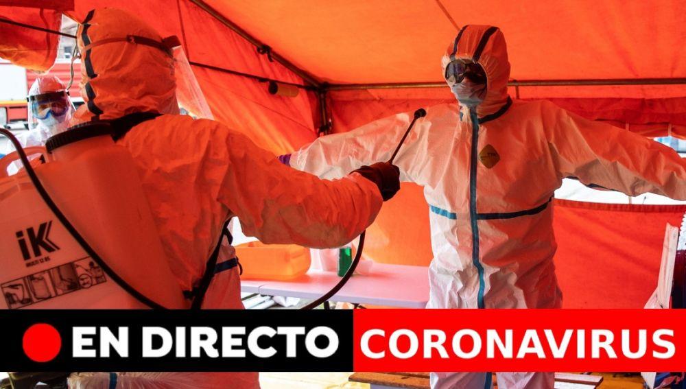 Coronavirus España última hora: Últimas noticias de la desescalada del coronavirus hoy, en directo
