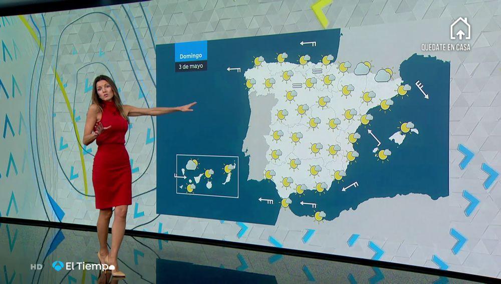 Tu Tiempo (02-05-20) Las temperaturas subirán hoy y algunas regiones superarán los 30 grados