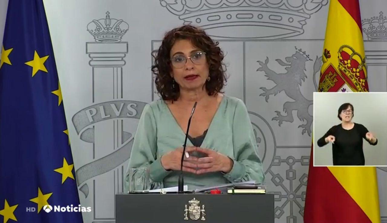 María Jesús Montero opina sobre las caceroladas