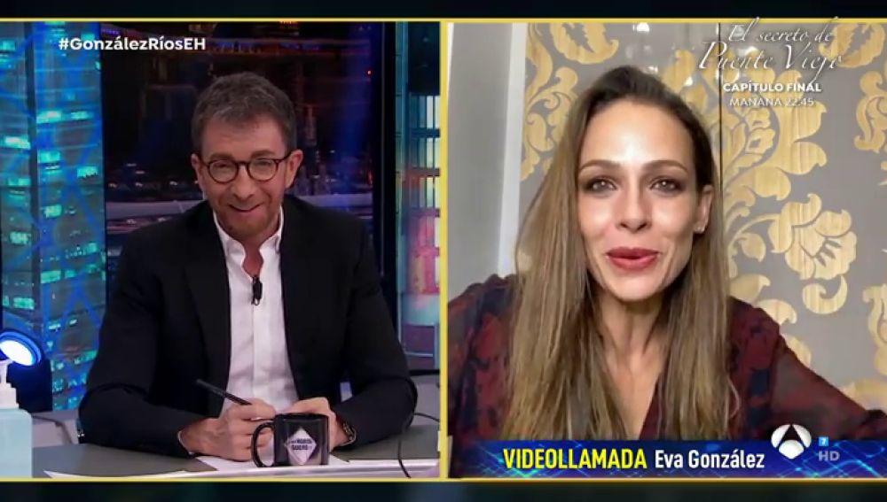 """Así contó Eva González a su hijo de 2 años cómo tener cuidado con el """"bichito"""" del coronavirus"""