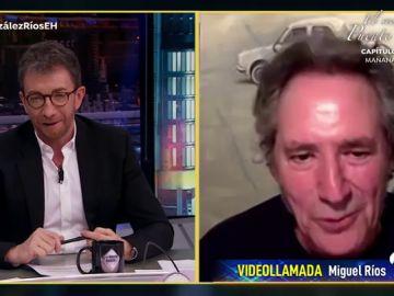 Miguel Ríos sorprende a Pablo Motos con su extraña afición a la vez que hace deporte
