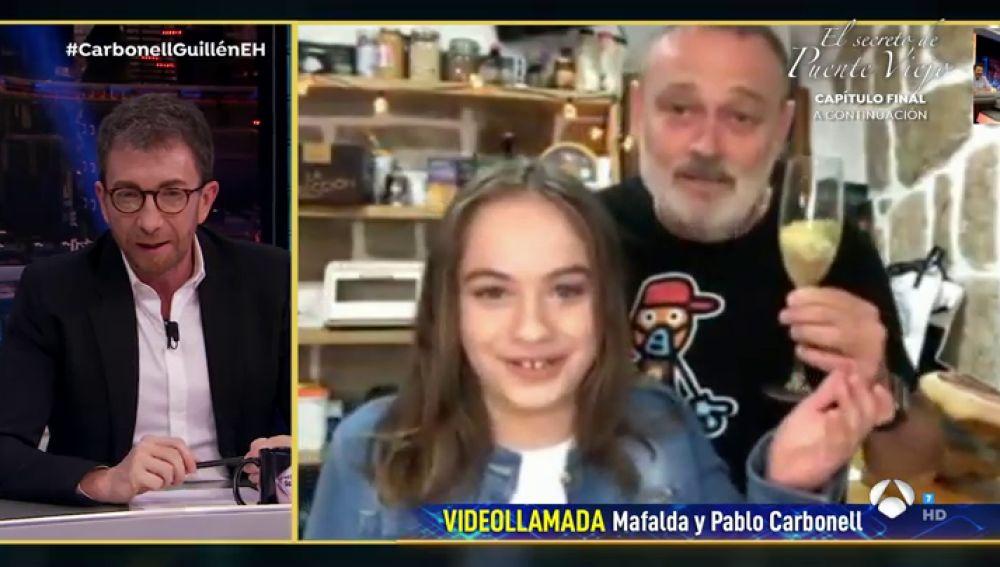 Disfruta de la entrevista completa a Pablo y Mafalda Carbonell en 'El Hormiguero 3.0'