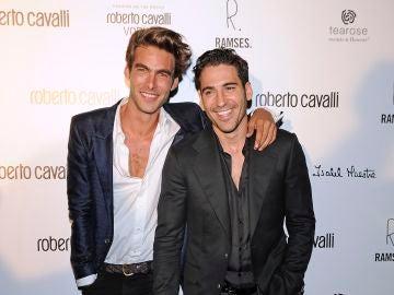 Jon Kortajarena y Miguel Ángel Silvestre