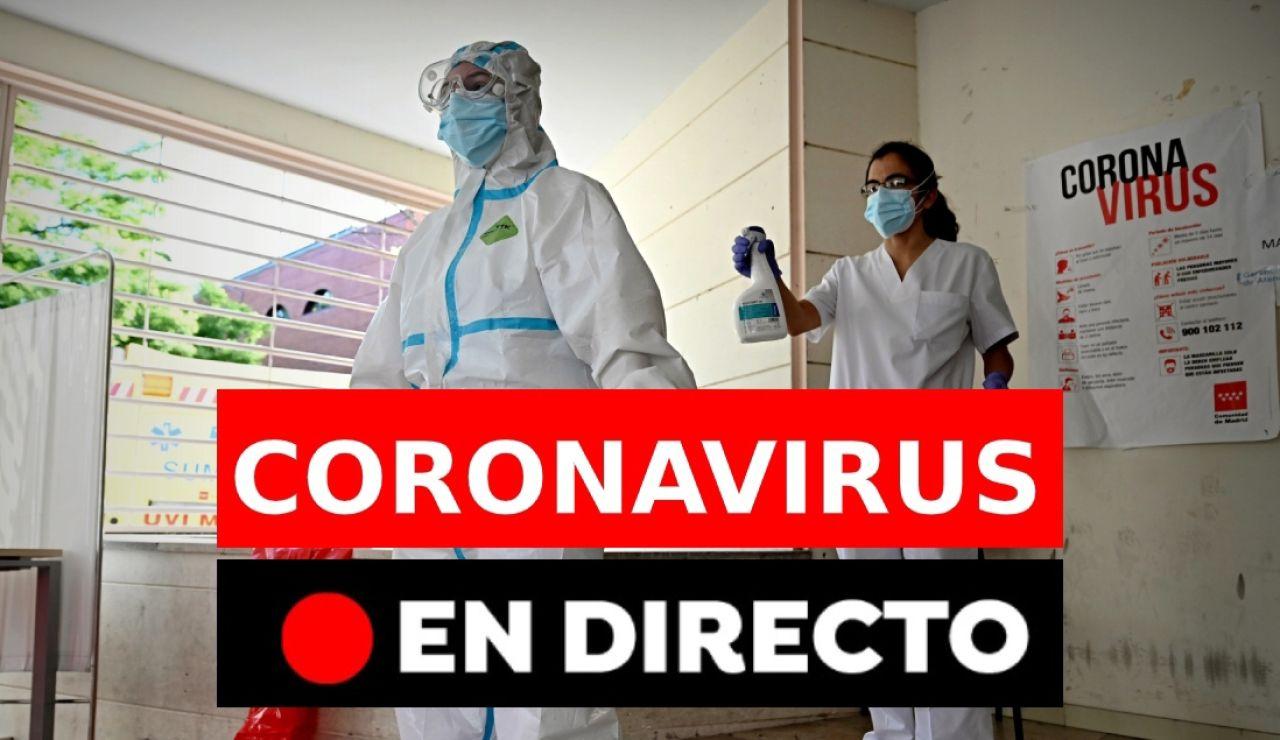 Coronavirus España: Fase 1 desescalada, datos de hoy y última hora, en directo