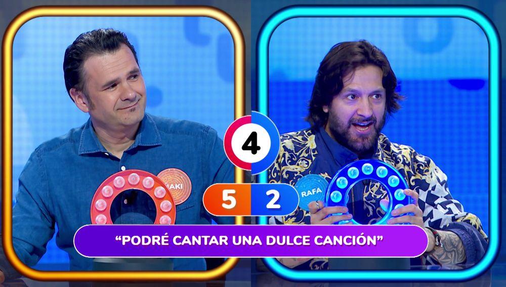 Iñaki López y Rafael Amargo en 'La Pista'