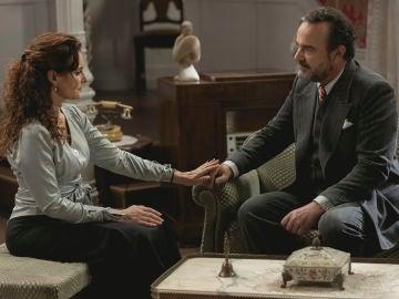 Isabel y Don Ignacio ponen sobre la mesa sus sentimientos, ¿dónde ha quedado su amor?
