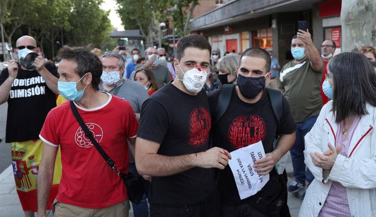 Coronavirus Madrid: Un herido leve durante una cacerolada en Moratalaz | Última hora Madrid