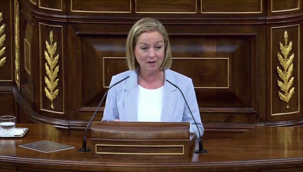 Ana Oramas, en el debate de la prórroga del estado de alarma por el coronavirus