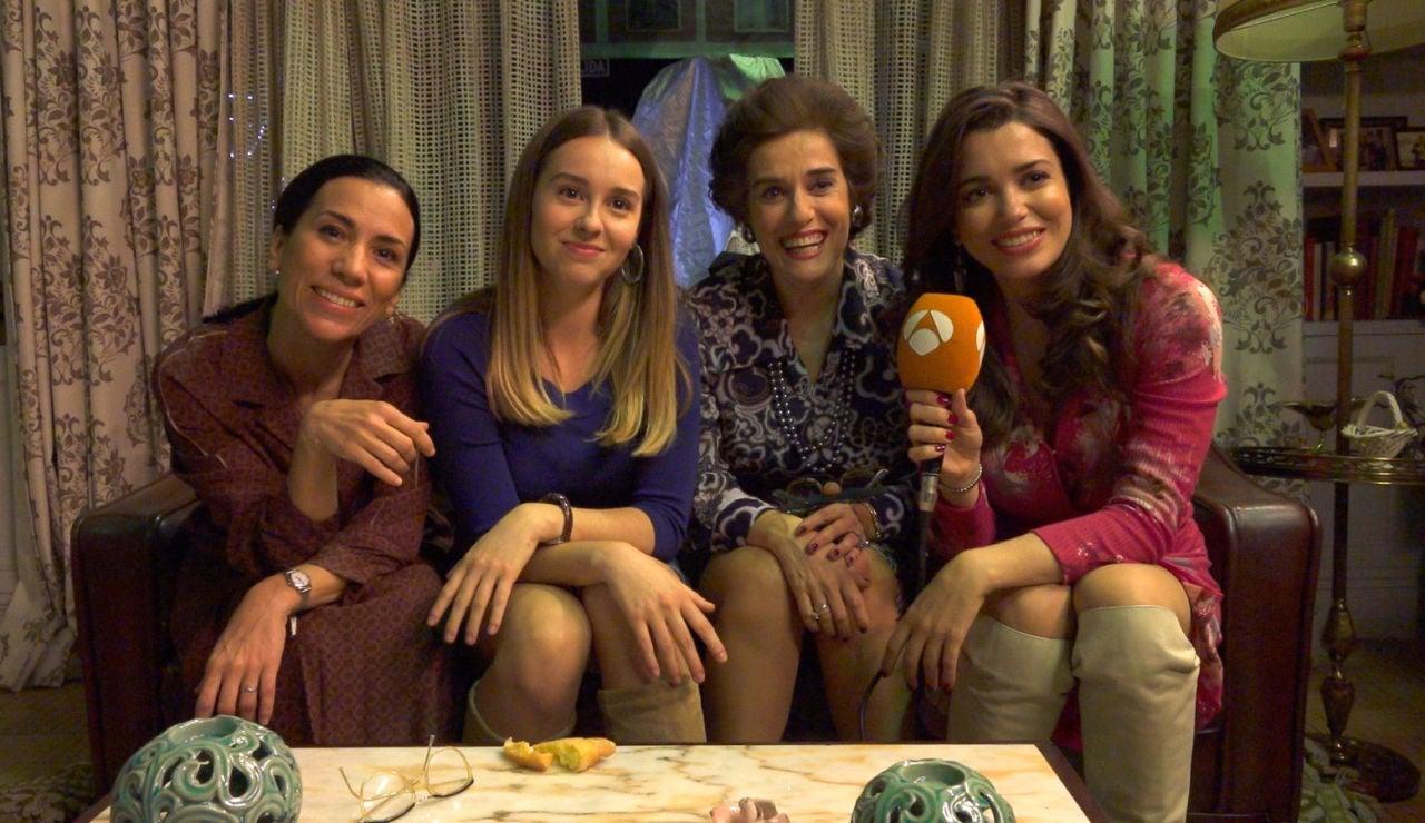 El mensaje de despedida de Itziar Miranda, Anabel Alonso, Paula Usero y Carol Rovira a su gran compañera de las tardes