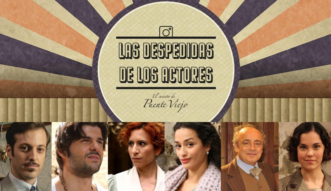 Las despedidas de los actores de 'El secreto de Puente Viejo'